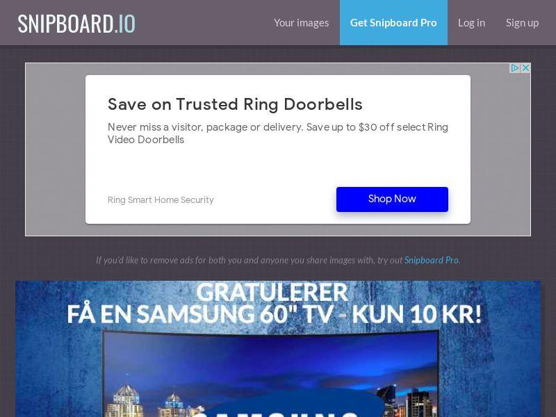 SteadyBusiness - Samsung SmartTV LP10 NO - CC Submit