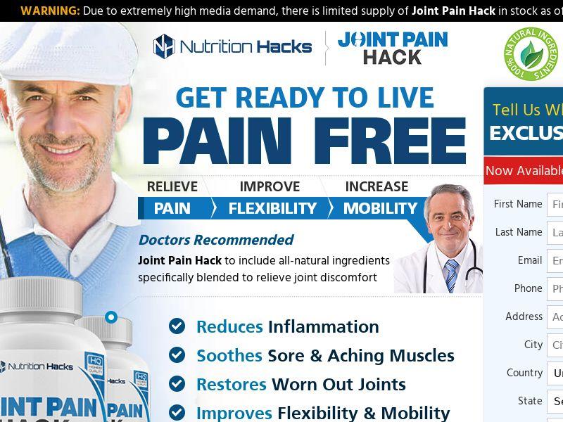 Joint Pain Hack - (US, CA, AU)