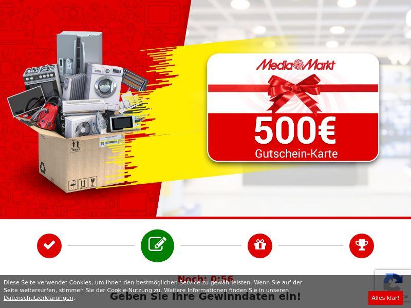 12186) [WEB+WAP] Media Markt 500€ - DE - CPL