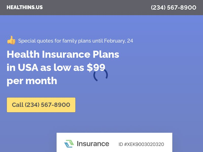 Health Insurance U65 | 90sec | Inbounds | Search traffic | US
