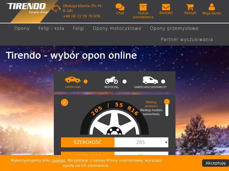 Tirendo - PL (PL), [CPS], Motoring, Car parts, Car accessories, Sell, moto