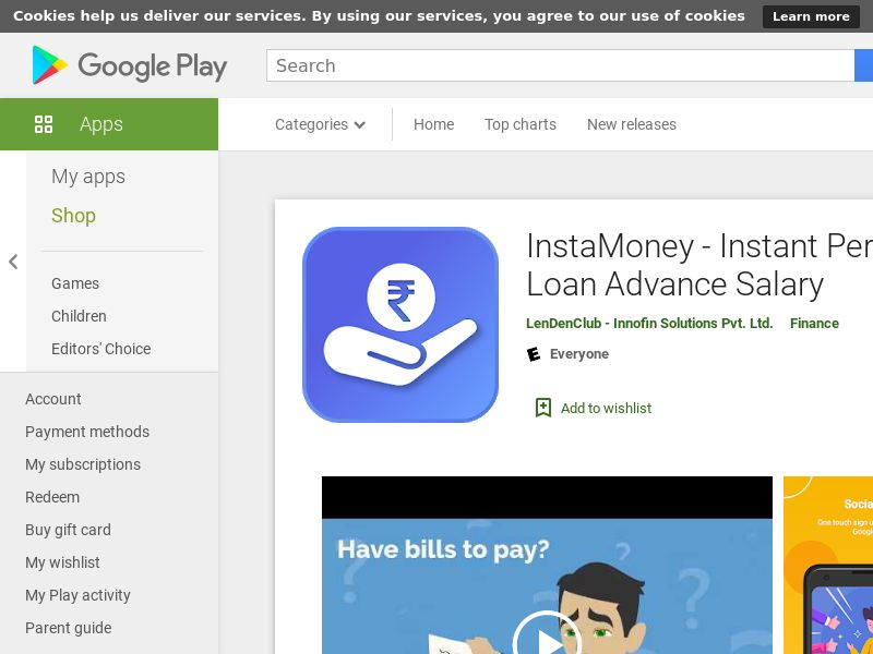InstaMoney - Instant Personal Loan, Salary Advance Android IN