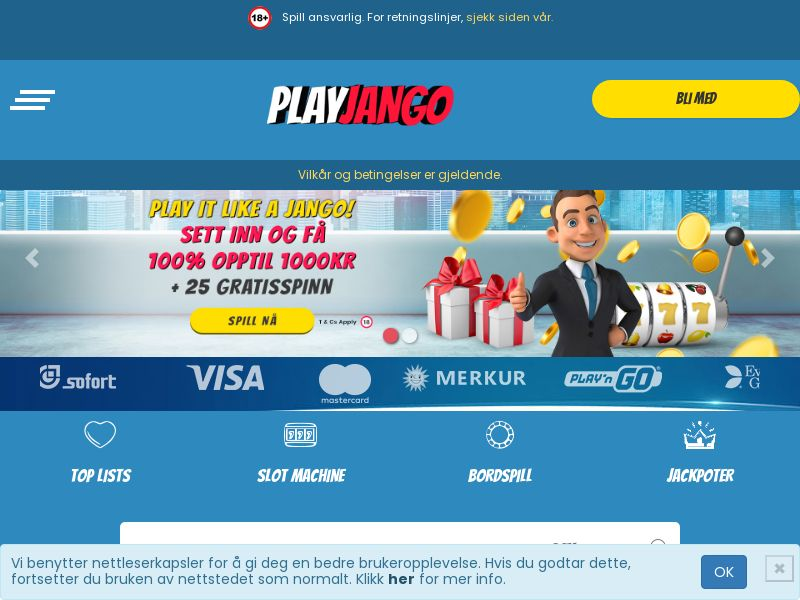 Play Jango (NO) (CPS) (Personal Approval)