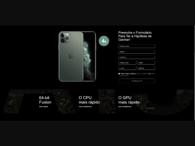 iPhone 11 Pro - Sweepstakes & Surveys - Trial - [PT]