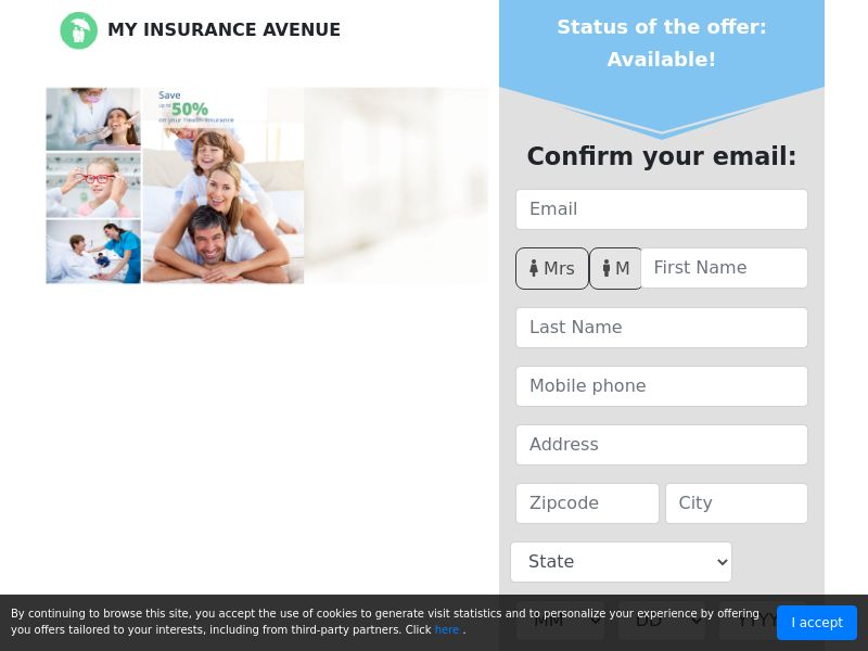 US - MyInsuranceAvenue - Health Insurance young family