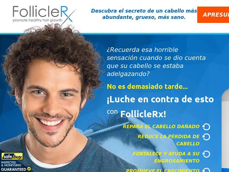 FollicleRx Spanish [INTL] (Social,Banner,PPC,Native,Push,SEO,Search)(No Email) - CPA