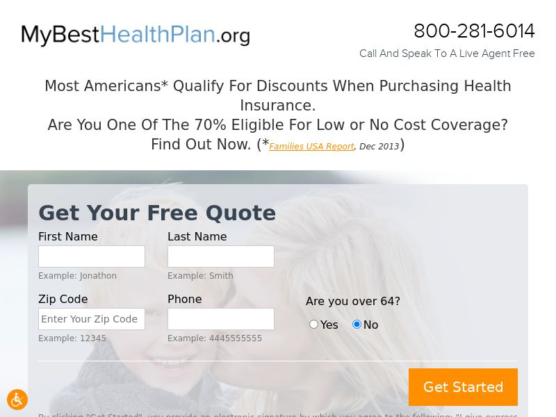 My Best Health Plan Email only - US