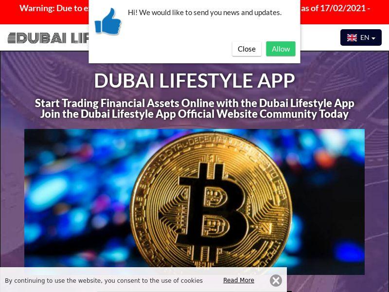 Dubai Lifestyle App Spanish 2520