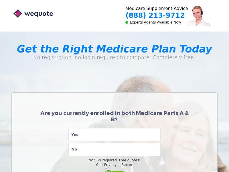 Medicare Insurance O65 Lead Gen - Mobile and Desktop - US - CPL (SOI)
