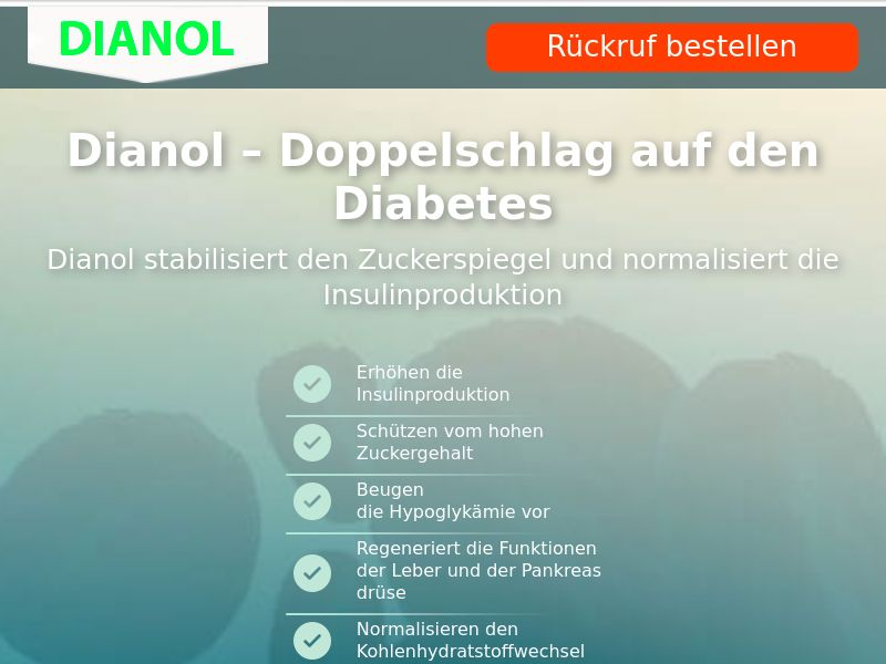 Dianol CH - 1eur - sugar control supplement