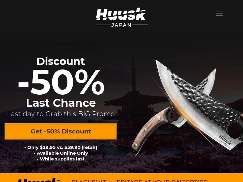 Huusk - Handmade Knives - CPA - [INTERNATIONAL]