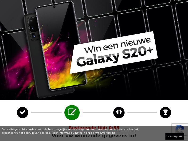 12078) [WEB+WAP] Samsung Galaxy S20+ - BE(nl) - CPL