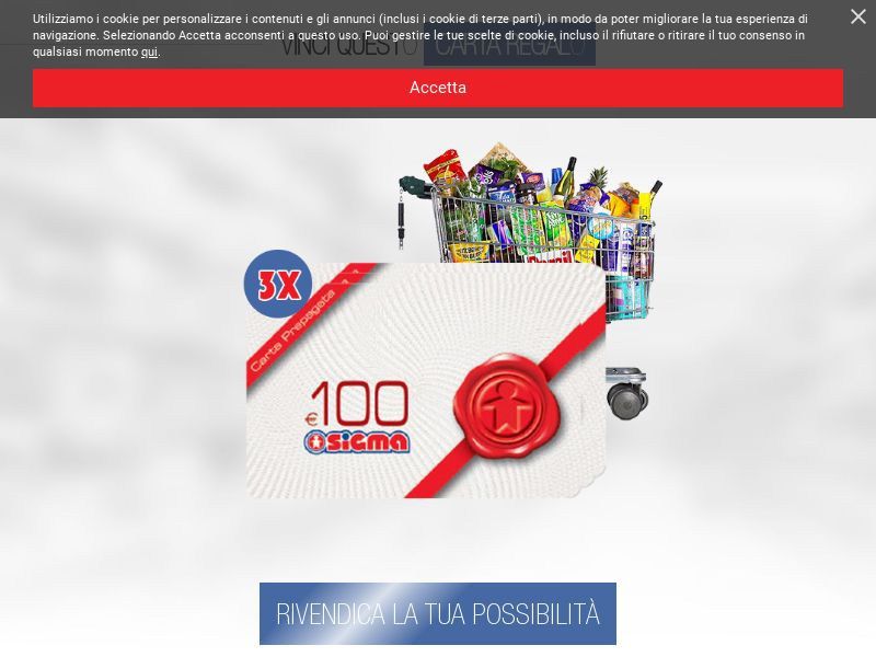 (13906) [WEB+WAP] Sigma Gift Card - IT - CPL