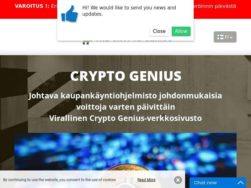 Crypto Genius Finnish 2425