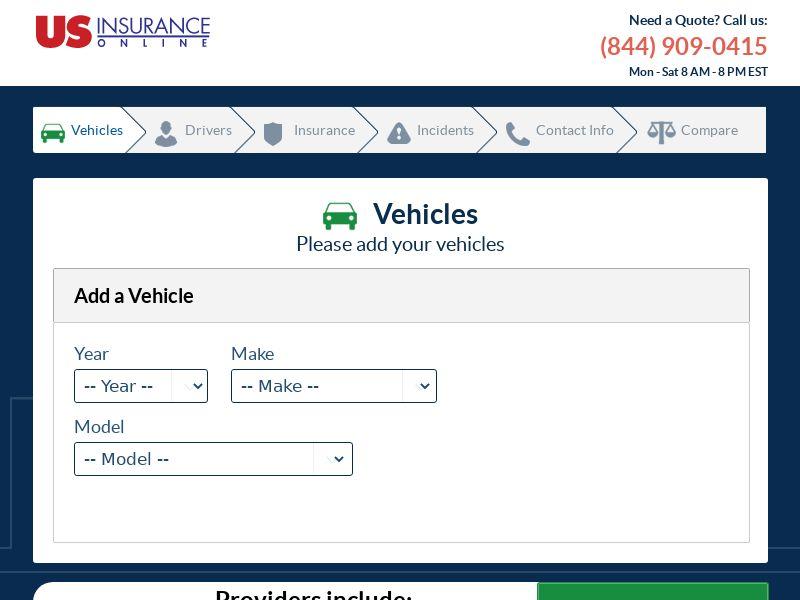 US Insurance online Auto - US