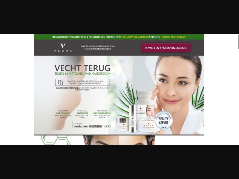 Veona Beauty - Skin Care - SS - [BE, NL]