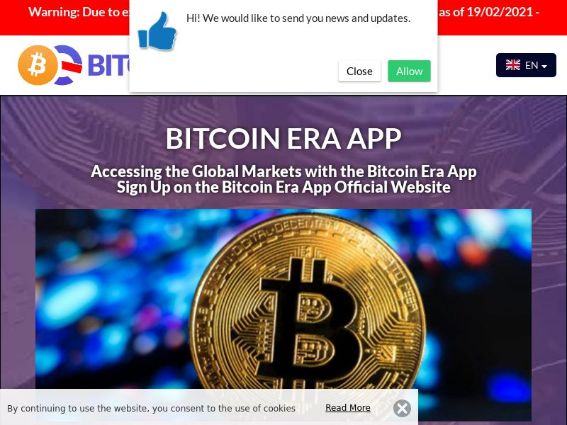 The Bitcoin Era Norwegian 2357