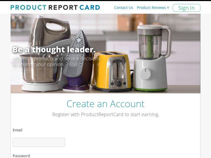 Product Report Card (DOI) - Surveys/Market Research - US