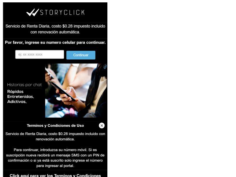 StoryClick Tigo