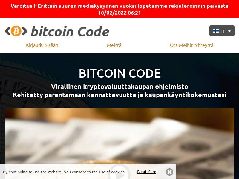 Bitcoins Code Pro Finnish 1022