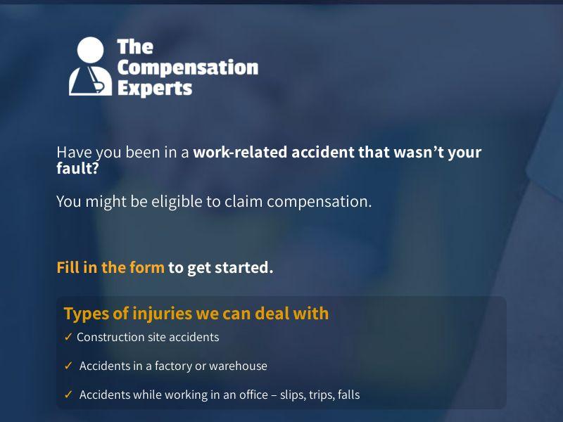 Personal Injury - Short Form - UK