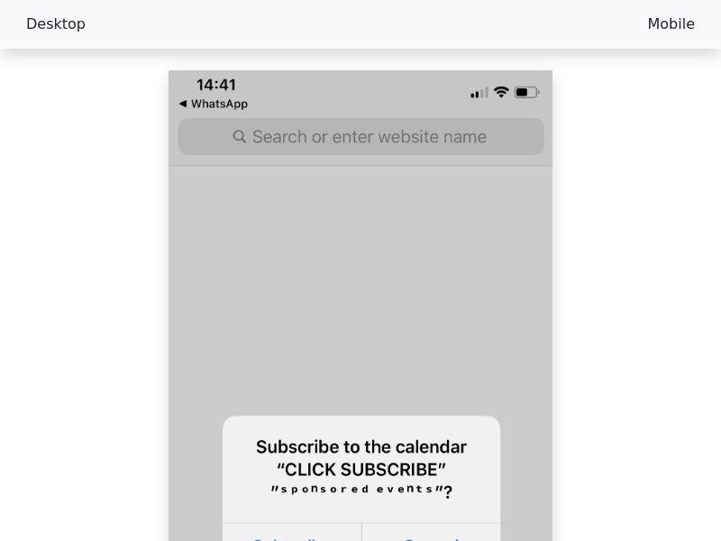 iOS Push - CPS (Subscription) - [Multigeo] - NEW!