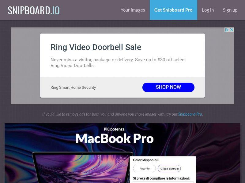 SteadyBusiness - Macbook Pro LP25 IT - CC Submit