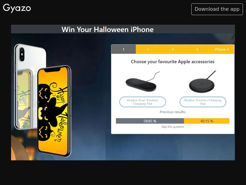 iPhone X Halloween (NZ)