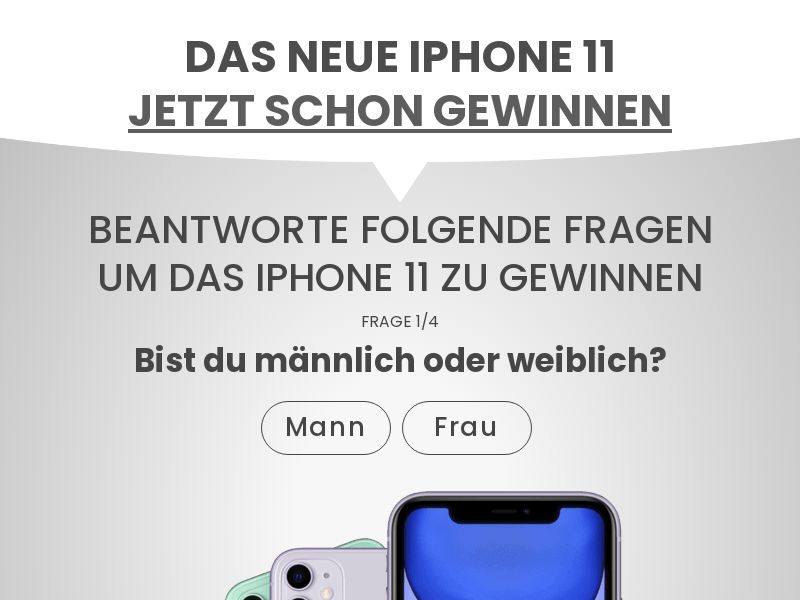 11778) [WEB+WAP] iPhone 11 - DE - CPL