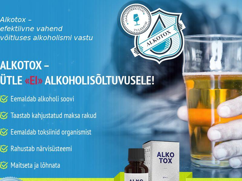 ALKOTOX EE - alcoholism treatment product