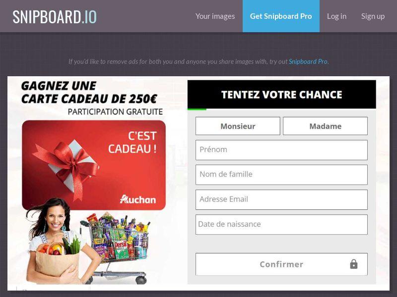 Auchan Bon! - FR