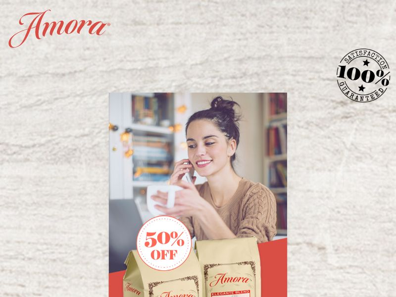 Amora Coffee - 50% off 2 Bags - INCENT - US