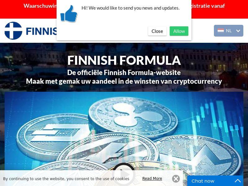 Finnesh formula Dutch 3750
