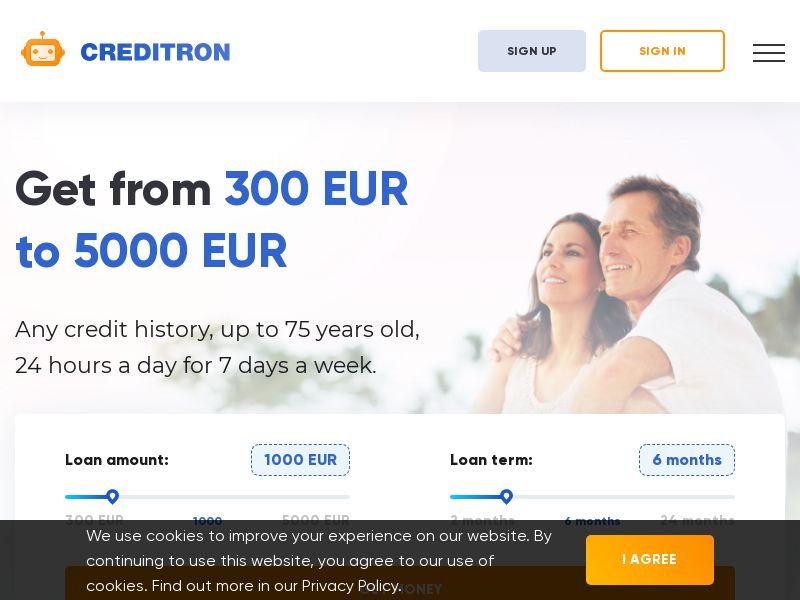 Creditron Loan - CZ