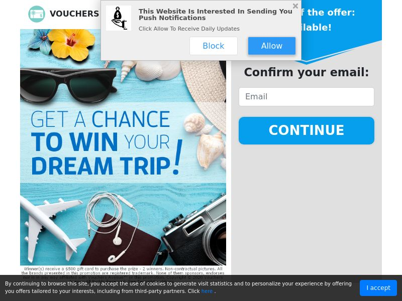 Chance to Win a Dream Trip - Sweepstakes - US