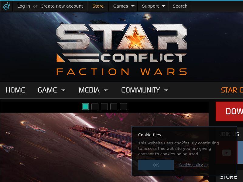 Star Conflict RU CIS CPA