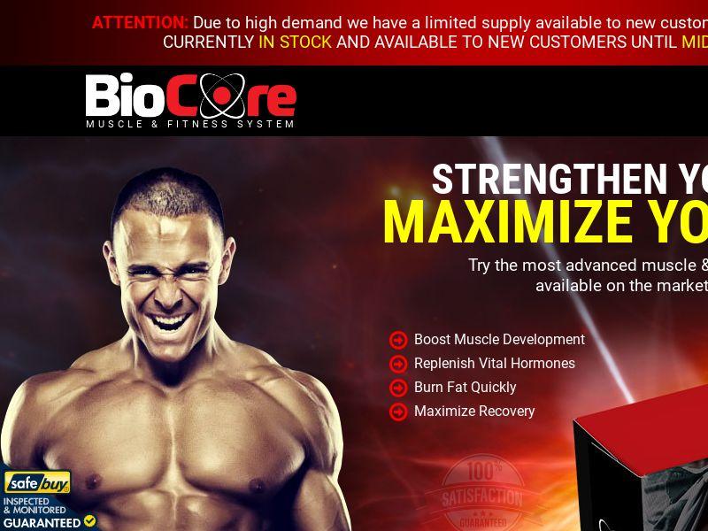 BioCore - SS - EN INTL - ALL - (Muscle)