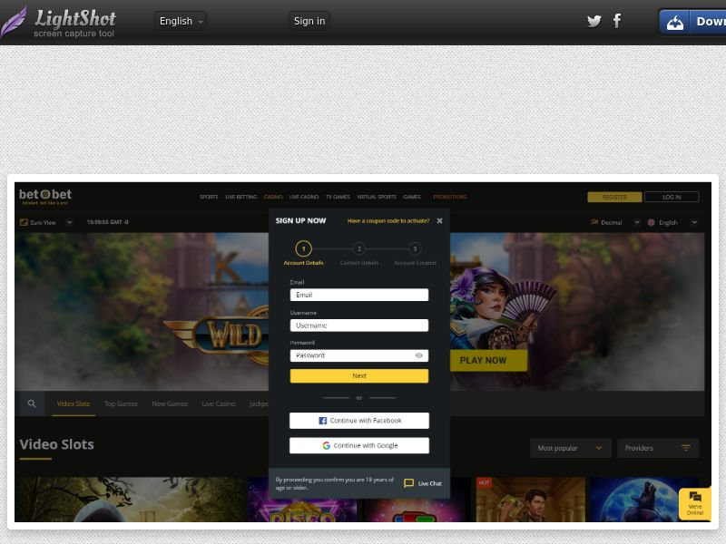 Gossip Slots Casino (US) (CPS) (Personal Approval)