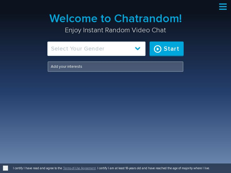 Chatrandom - PPS - Responsive
