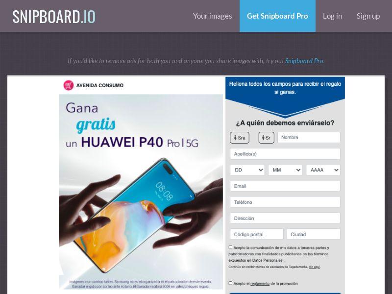 38126 - ES - Avenida Consumo - Huawei P40 - SOI