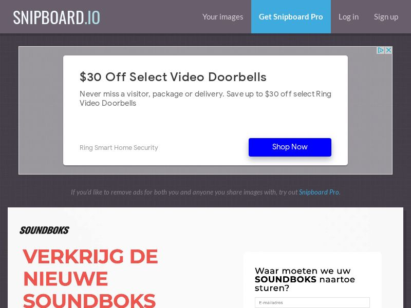 CoreSweeps - Soundboks Speaker BE - CC Submit