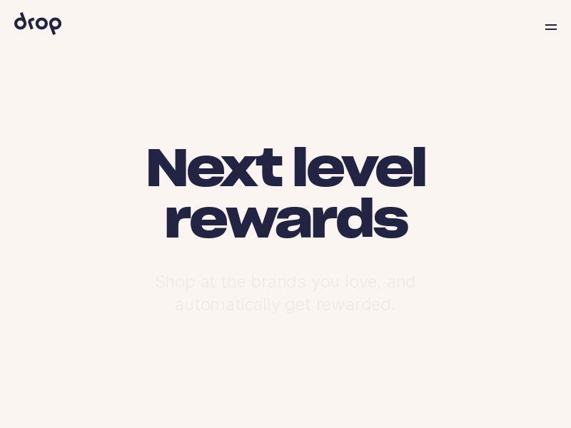 DROP Rewards - iOS - INCENT - US