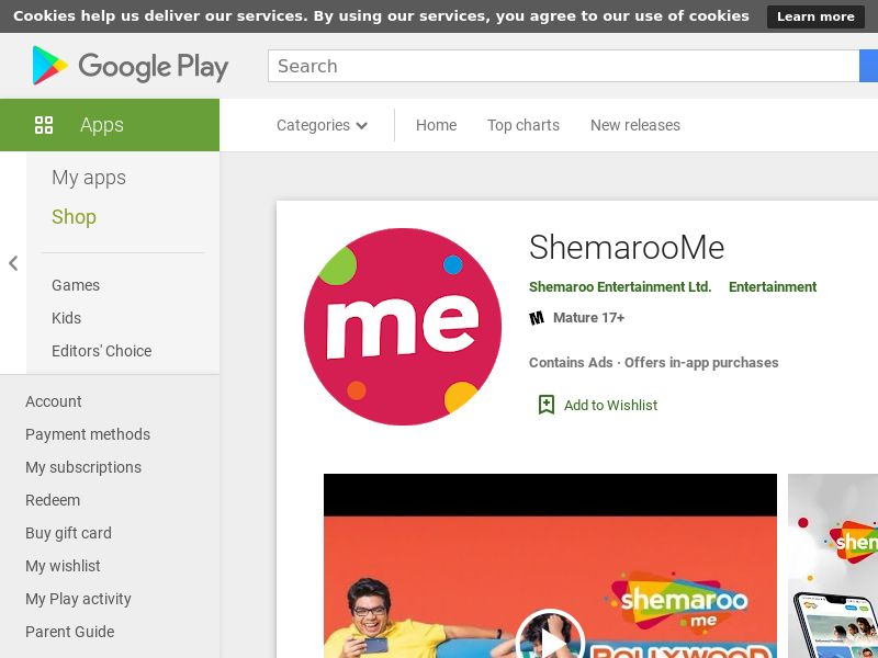 IN-Android-ShemarooMe Subscribe & Win contest (CPE=Subscription)