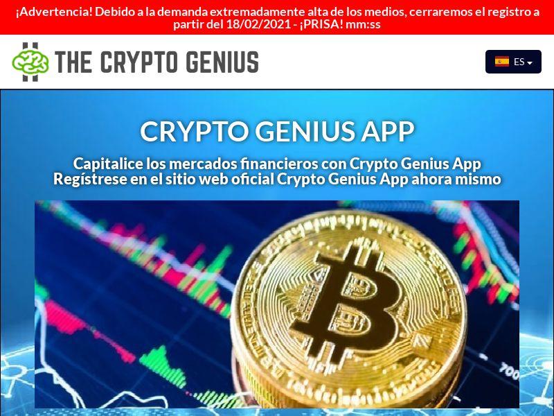 Crypto Genius App Spanish 2732