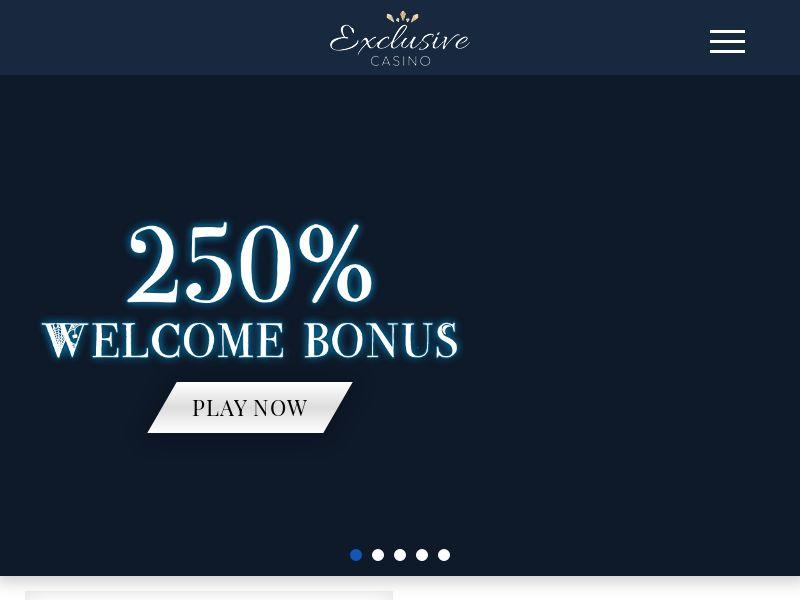 Exclusive Casino - Home - CA, US, NZ, AU