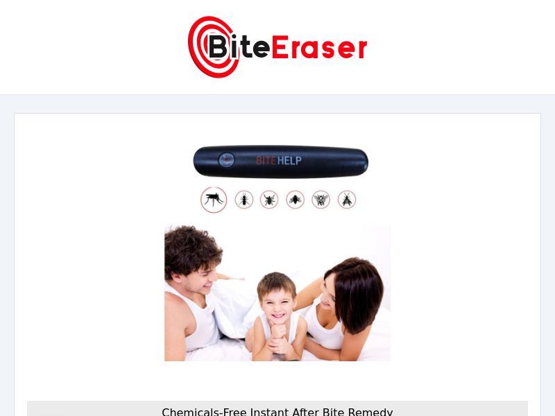 BiteEraser - ThermoPulse Pen for itching - CPA - [INTERNATIONAL]