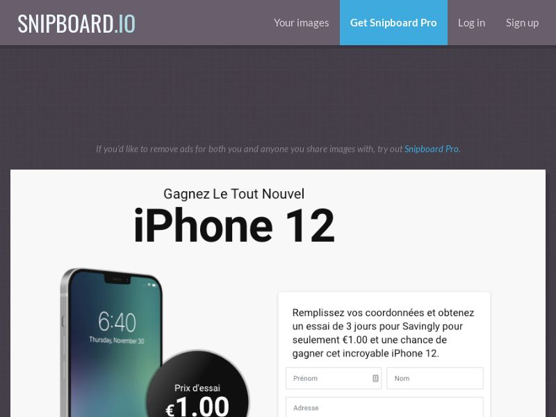 2742 Win iPhone 12 ССSubmit FR 25$