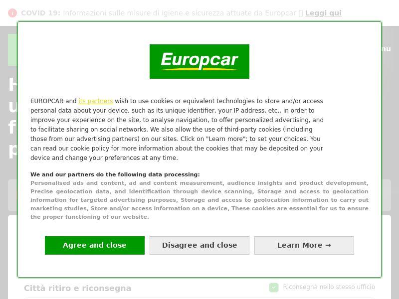Europcar - IT (IT), [CPS]