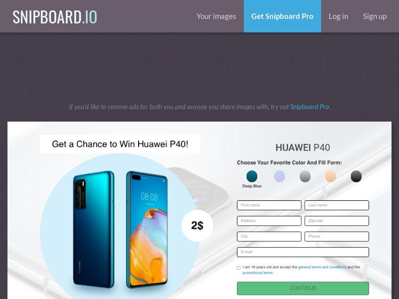 BigEntry - Huawei P40 v1 SG - CC Submit (english/malay)