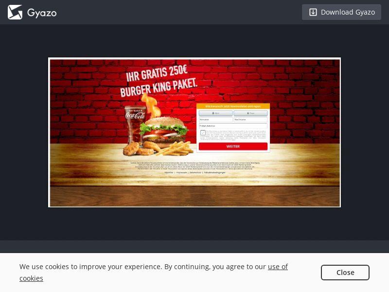 DE - Burger King - SOI